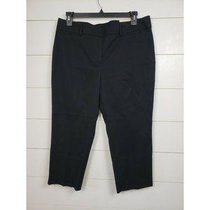 NEW Ann Taylor LOFT Curvy Skinny Black Pant 14P